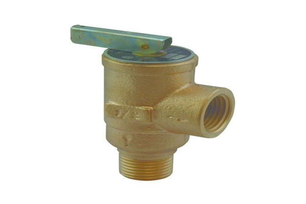 Its all about your temperature and pressure relief valve discharge pipe