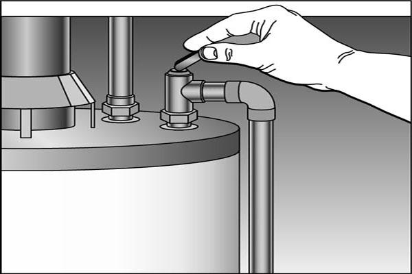 electric water heater pressure relief valve leaking