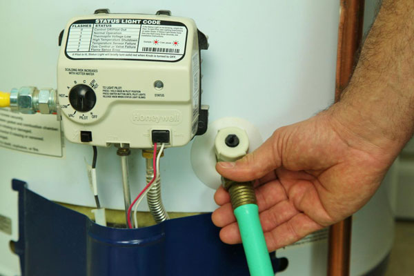 Is Your Water Heater Pressure Relief Valve Leaking After