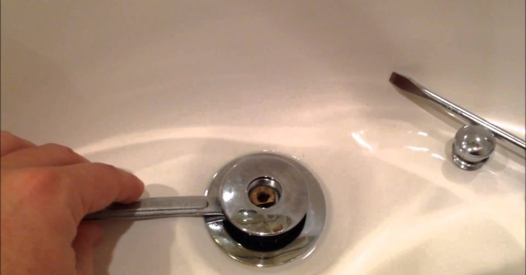how to remove a sink stopper