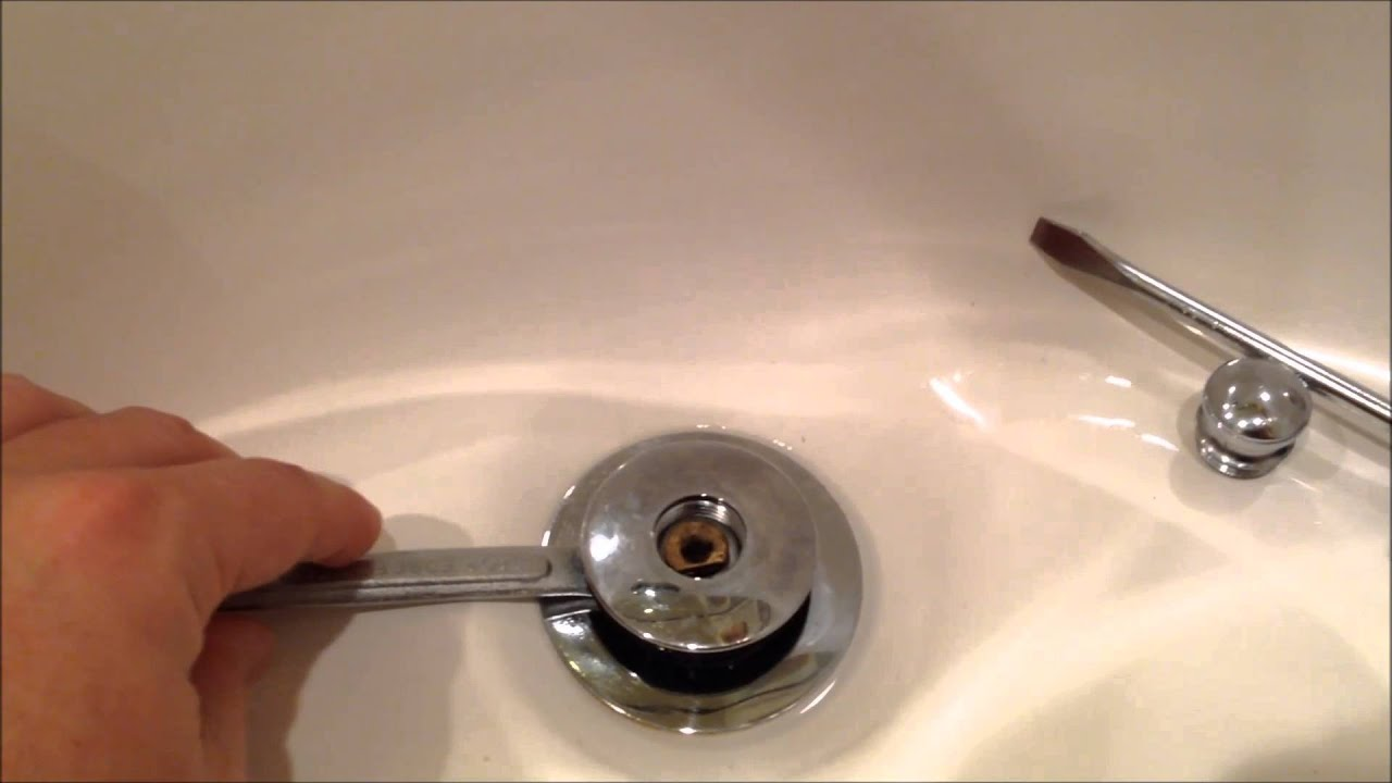 How To Remove Sink Stopper Yourproplumber