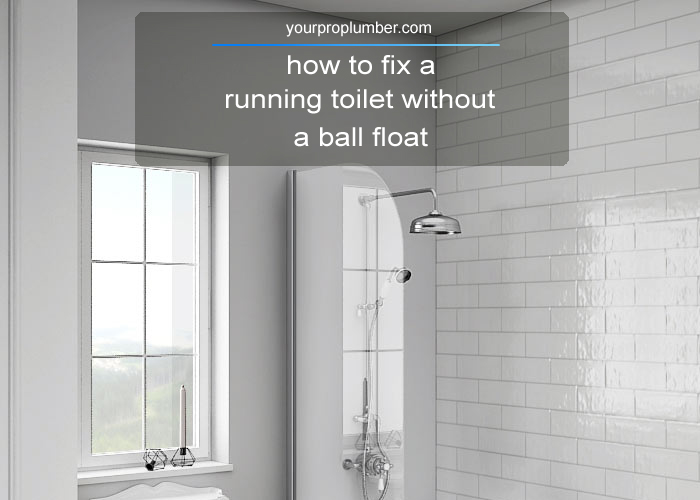 How to fix a toilet cistern still running after flushing