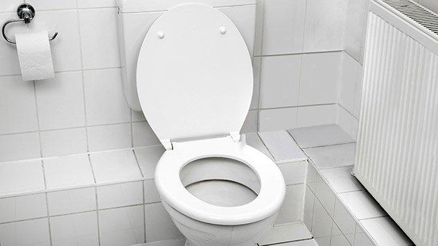 toilet flush running