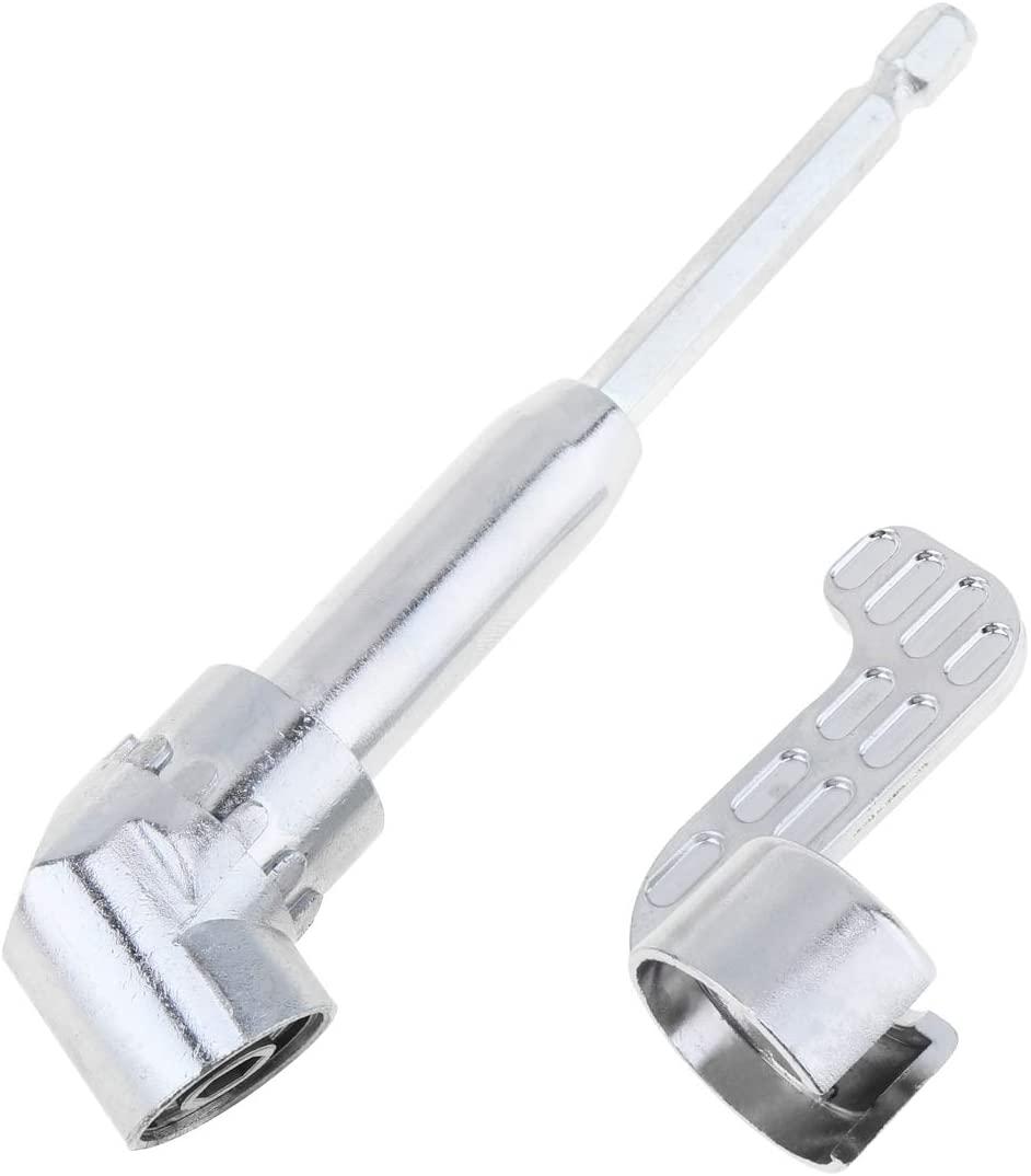 Origlam 1 / 10.2 cm 105 degrees Angle extension socket Holder Adapter