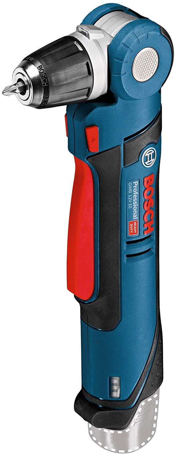 The Bosch GWB 10.8-LI right angle drill 0601390905