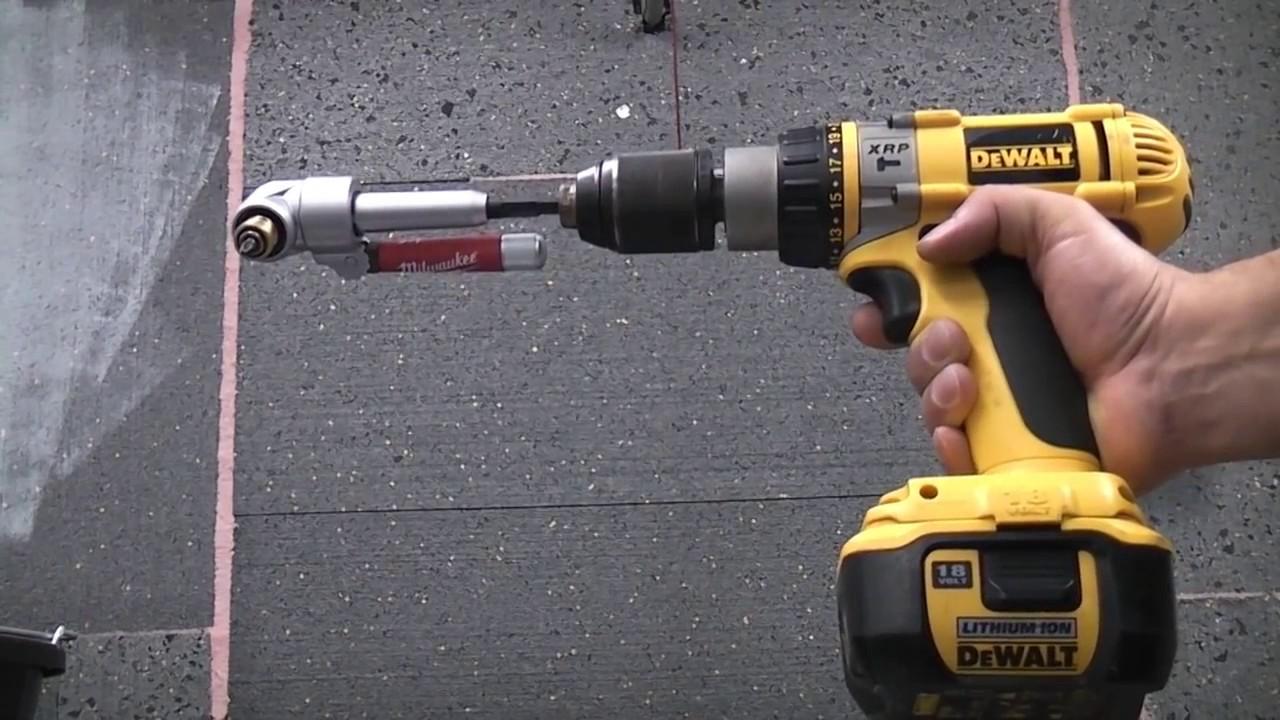 best right angle drill attachment